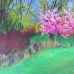 """Anita Putniņa """"Parks"""" 40x70, a/e, 2016."""
