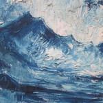 """Jūras ainava"" a/e, 50x60, 80 eur"