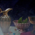 "Alfrēds Lapetrovs ""Klusā daba"" (60x70) k/e, 1998."