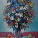 "Indulis Kalniņš ""Vasaras ziedi"" (50x70), a/e, 2013."