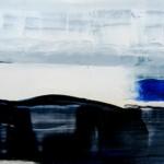 """Rihards Delvers """"Bez nosaukuma"""" koks, eļļa, 20x31, 2011."""