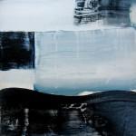 """Rihards Delvers """"Bez nosaukuma"""" koks, eļļa, 20,5x24,5, 2011."""
