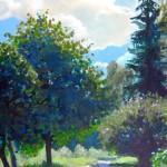 """Māra Ozola """"Ceļš"""" a/a, 40x50, 2012."""