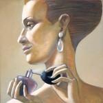 """H.Jaksone """"Smarža"""" a/e (40x40), 2011."""