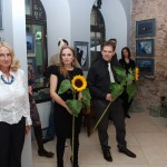 """Galerijas """"AVIĀCI JĀ"""" atklāšana 2012.gada 17.septembrī."""