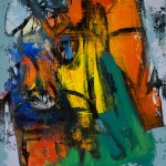"""Andris Vītols """"Sabile"""" a/a, 100x80, 2006-2012."""
